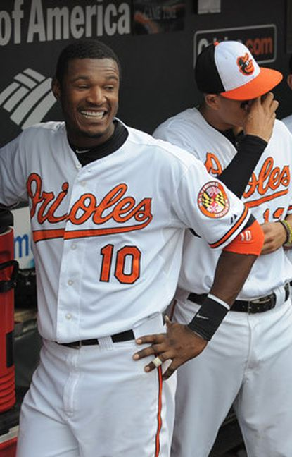 Adam Jones was named Most Valuable Oriole for the second straight year.