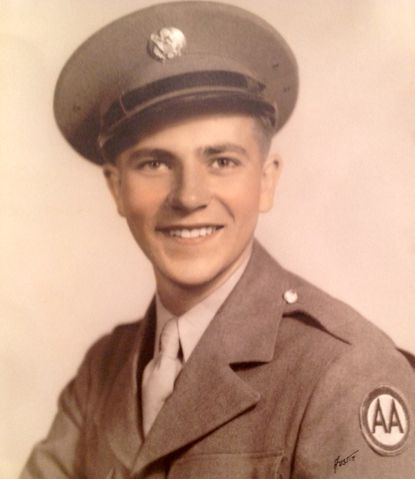 Charles E. Geyer fought in the Ardennes campaign.