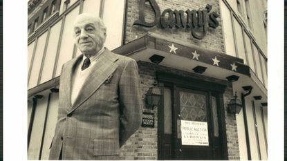 Danny Dickman, who owned Danny's Restaurant on Charles and Biddle streets, cossetted his patrons with rich dishes.