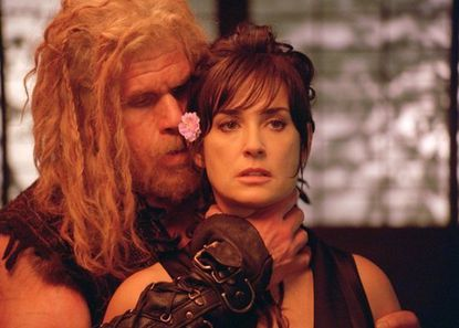 """""""Bunraku,"""" a new film with Demi Moore (pictured) and Ron Perlman"""