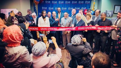 The Council on American-Islamic Relations hosts a ribbon-cutting ceremony on Jan. 29 to celebrate the opening of its new Catonsville office.