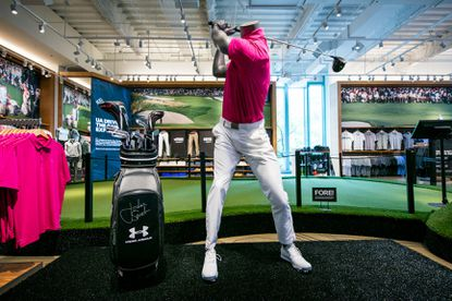 Under Armour opens 'immersive' golf experience in Chicago