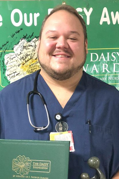 Carroll Hospital's July DAISY Award winner, Doug Mackley, R.N. - Original Credit: Courtesy Photo